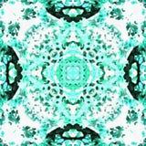 Milieu de Hydrangeflower de kaléidoscope de batik Photo libre de droits