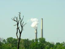 Milieu gevolgen stock fotografie