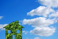 Milieu huisvesting vector illustratie