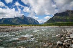 Milieu Sakukan de rivière Photographie stock
