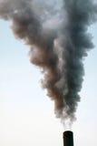 Milieu Schade: Luchtvervuiling stock foto's