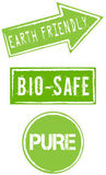 Milieu Tekens Stock Foto