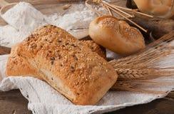 Milieu van brood Royalty-vrije Stock Afbeelding