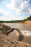 Milieu verontreiniging Stock Foto