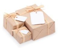 Milieu verpakking Stock Foto's