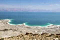 Milieucatastrofe op het Dode Overzees, Israël Stock Afbeeldingen