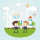 Milieuduurzaamheids Bedrijfsconcept Royalty-vrije Stock Fotografie