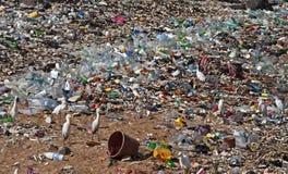 Milieuvervuiling Stock Foto