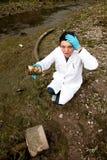 Milieuvervuiling - onderzoek royalty-vrije stock foto