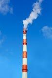 Milieuvervuiling van zware industrie Stock Fotografie