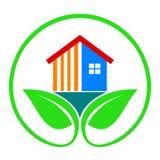 Milieuvriendelijk huis Stock Fotografie