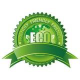 milieuvriendelijk pictogram Royalty-vrije Stock Afbeeldingen