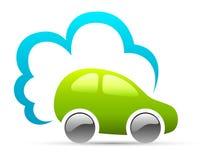 Milieuvriendelijke auto Stock Foto's