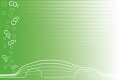 Milieuvriendelijke auto Royalty-vrije Stock Afbeeldingen