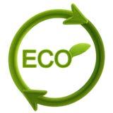 Milieuvriendelijke illustratie Stock Foto's