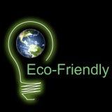 Milieuvriendelijke illustratie Stock Afbeelding