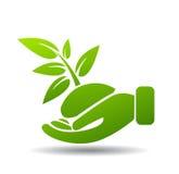 Milieuvriendelijke transportmiddelen en vernieuwbare energie Royalty-vrije Stock Afbeeldingen