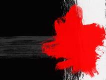 Milieux élégants dans le style grunge dans des couleurs noires et rouges photo libre de droits