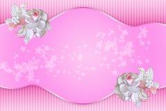Milieux élégants romantiques Photo stock