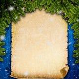 Milieux abstraits d'hiver Images libres de droits
