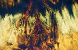 Milieux abstraits de couleur, collage de peinture avec Photo libre de droits