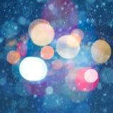 Milieux abstraits de Noël Photos stock