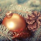 Milieux abstraits de Noël Images libres de droits