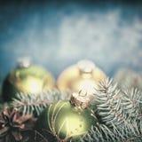 Milieux abstraits de Noël Images stock