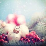 Milieux abstraits de Noël Photo libre de droits