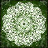 Milieux abstraits de vecteur avec l'élément de mandala Conception décorative Textures géométriques de vintage Fond pour la carte, Images stock