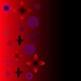 Milieux abstraits de vecteur Rouge Image stock