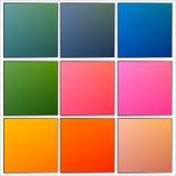 Milieux abstraits en pastel naturels brouillés Photo stock