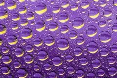 Milieux abstraits violets Photos libres de droits