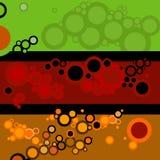 Milieux avec des cercles Image stock