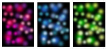Milieux, bannières, colorfoul, tache floue Image libre de droits