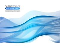 Milieux bleus abstraits d'affaires Photographie stock