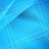 Milieux bleus abstraits de vecteur Photo libre de droits