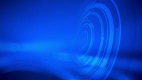 Milieux bleus abstraits futuristes de mouvement illustration de vecteur
