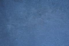 Milieux bleus de texture de mur de ciment photographie stock libre de droits