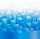 Milieux bleus géométriques illustration stock