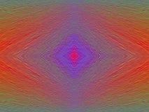 Milieux carrés d'art abstrait de couleurs Photo stock