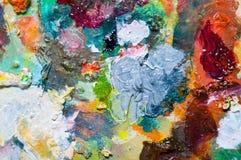 Milieux colorés Photographie stock