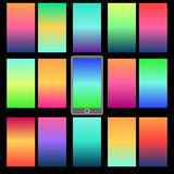 Milieux colorés abstraits Photographie stock libre de droits