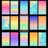 Milieux colorés abstraits Image stock