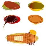Milieux colorés par automne Photo stock