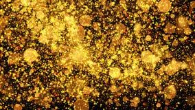 Milieux d'or rêveurs de luciole illustration de vecteur