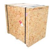 Milieux de boîte en bois/texture Photos stock