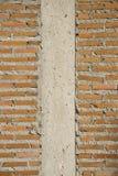 Milieux de construction en briques Photos libres de droits