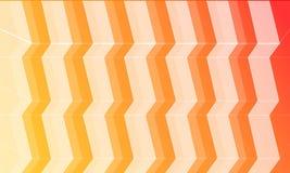 6 milieux de couleur avec l'escalier Incluez 6 couches pour 6 couleurs dans le dossier Photo stock