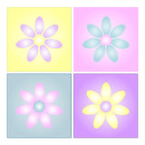 Milieux de fleur Image libre de droits